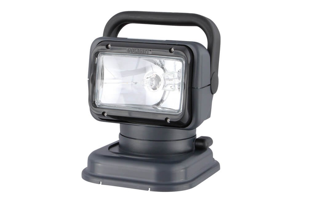 Image of GoLight 5149 Halogen Remote Controlled Vehicle Mounted Spotlight