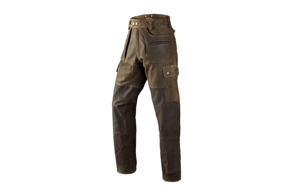 Image of Harkila Angus Leather Trousers