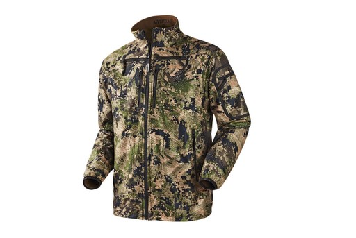 Harkila Q Fleece Jacket Optifade Ground Forest Reversible