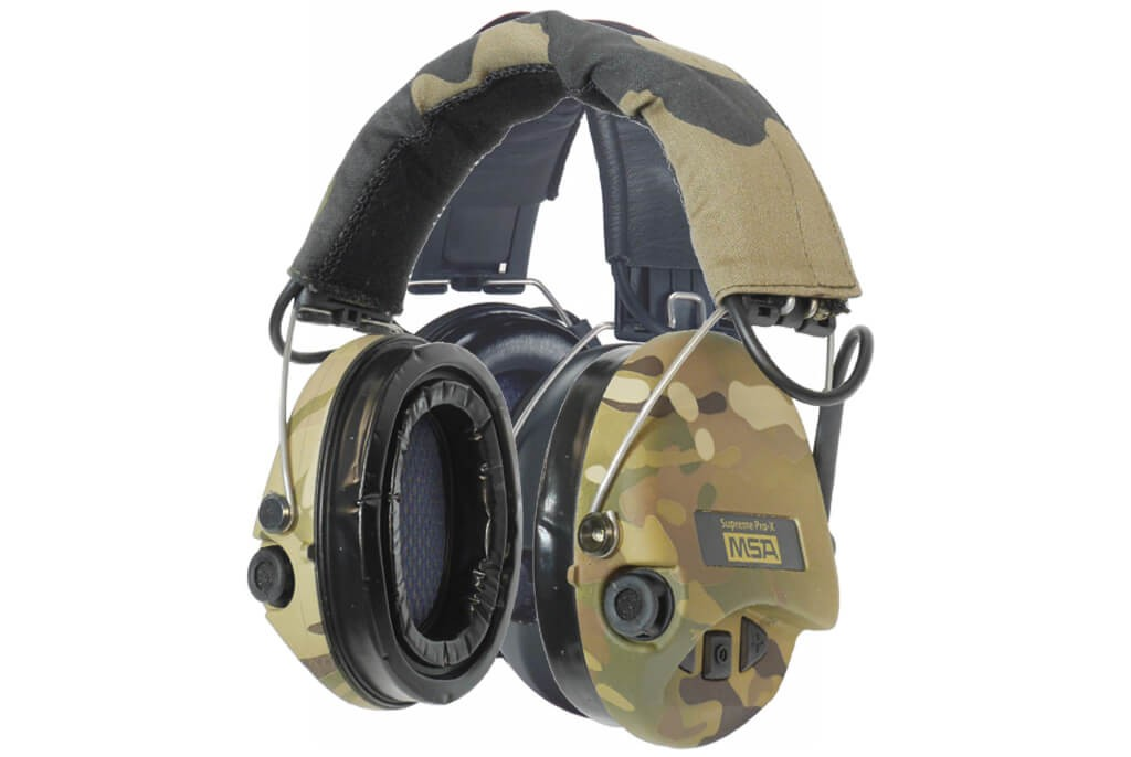Image of MSA Sordin Supreme Pro X MultiCam Mil Spec Electronic Hearing Protection