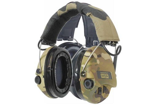 MSA Sordin Supreme Pro X MultiCam Mil Spec Electronic Hearing Protection
