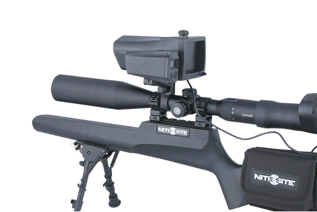 Image of Nite Site Wolf RTek Combo Package including Scope Mounted Laser Rangefinder