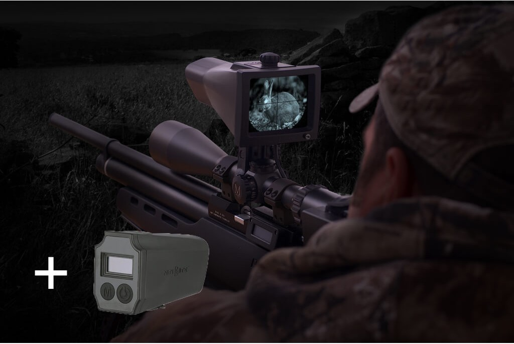 Nite Site Viper RTek Combo with Scope Mounted Laser Rangefinder