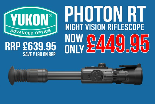 Yukon Photon RT 6x50 Digital Night Vision Riflescope