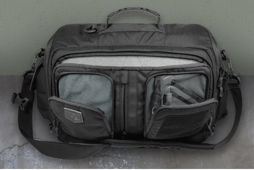 Cannae Viator Tactical Messenger Laptop Bag