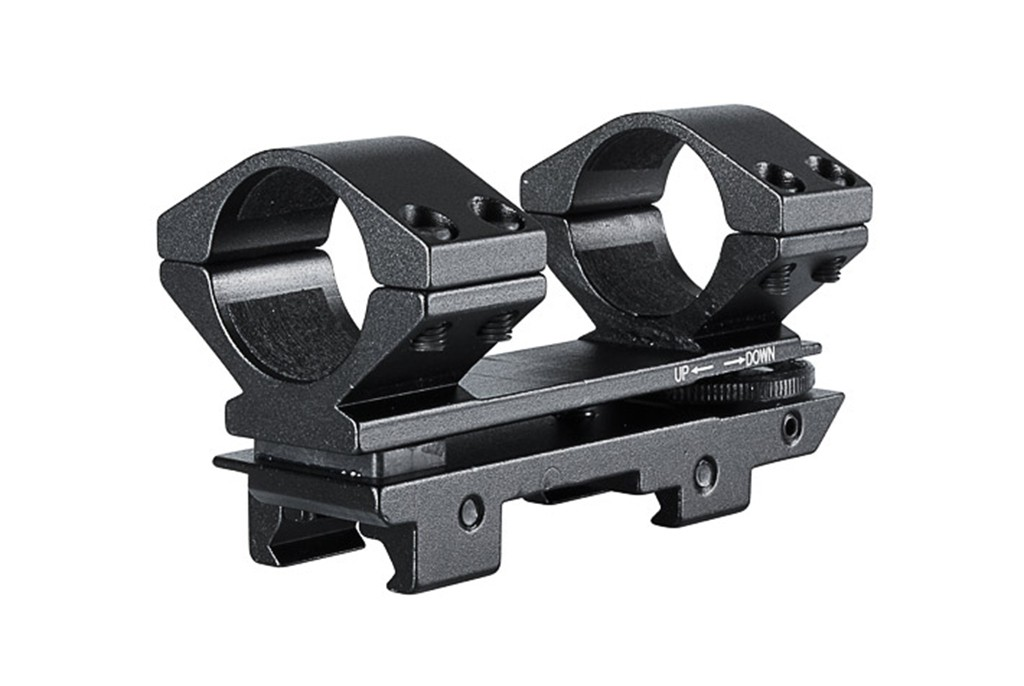 Image of Hawke Adjustable Weaver Scope Mounts 30mm High