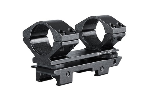 Hawke Adjustable Weaver Scope Mounts 30mm High