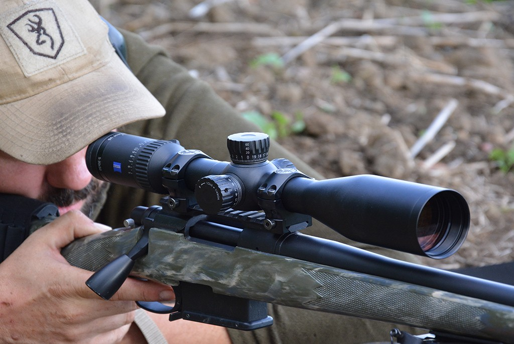 Image of Zeiss Conquest V6 5-30x50 Ballistic Reticle Riflescope