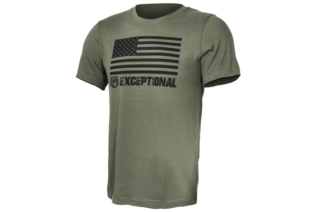 Image of Cannae Pro Gear US Flag Tactical T Shirt