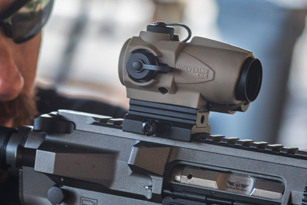 Image of SightMark Wolverine CSR Dark Earth Compact Red Dot Sight