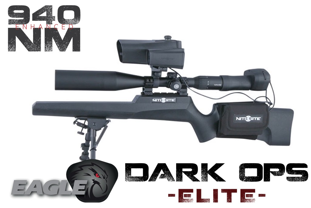 Image of Nite Site Eagle Dark Ops Elite Night Vision Combo kit with Laser Rangefinder