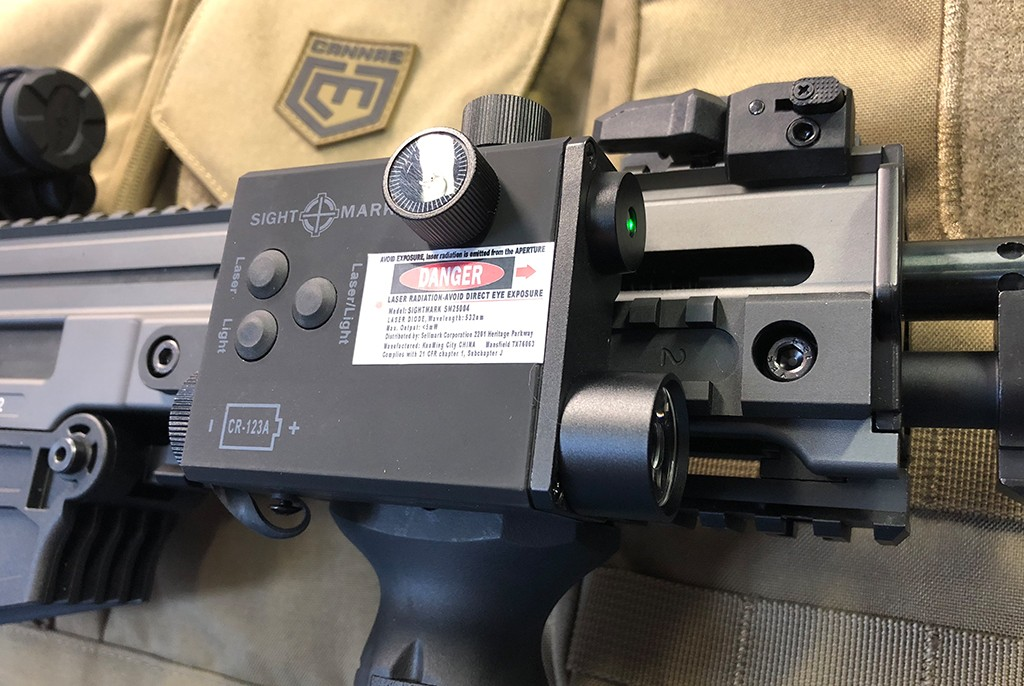 Image of Sightmark LoPro Combo Green Laser/Flashlight