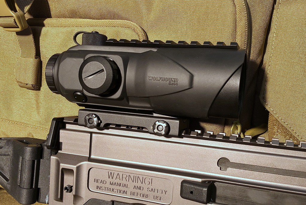 Image of Sightmark Wolfhound 6x44 LQD Tactical Prismatic Rifle Sight