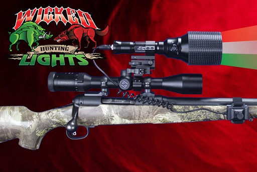 Wicked Lights A67ic Predator Gun Light Kit