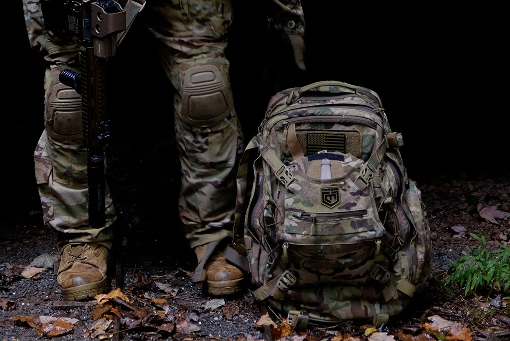 3eb5eedac179 Image of Cannae Pro Gear Phalanx Multicam Full 2 Day Pack with Helmet Carry