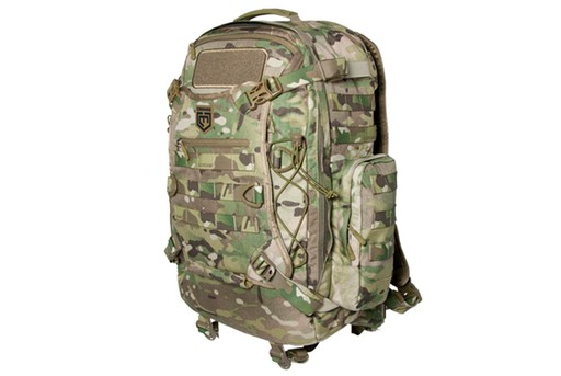 Cannae Pro Gear Phalanx Multicam Full 2 Day Pack with Helmet Carry