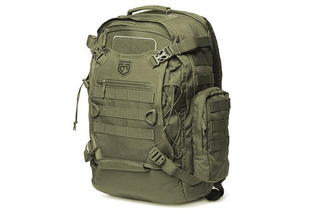 Image of Cannae Pro Gear Phalanx Operator Sage Green Full 2 Day Pack with Helmet Carry