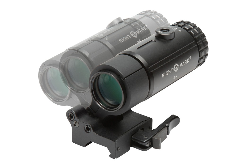 Image of Sightmark T-3 Tactical Magnifier with LQD Flip to Side Mount
