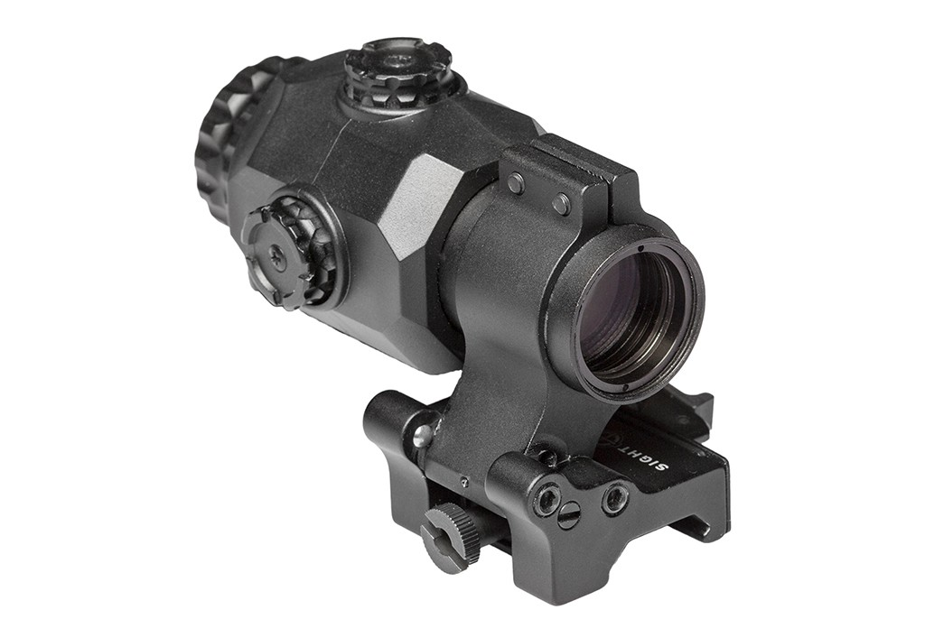 Image of Sightmark XT-3 Tactical Magnifier with LQD Flip to Side Mount