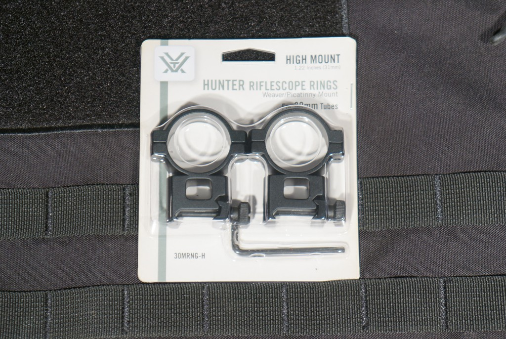 Image of Vortex Hunter Weaver/Picatinny Rings - 30mm High Perfect for Yukon Photon RT