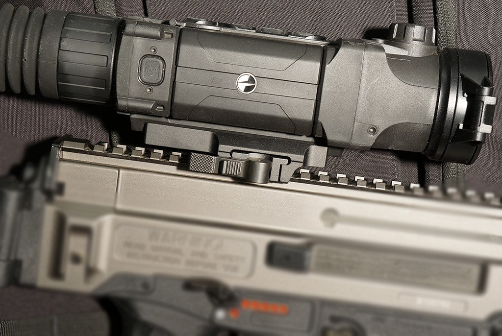Image of Sellmark Locking QD Mount for Pulsar Trail, Apex, Digisight etc