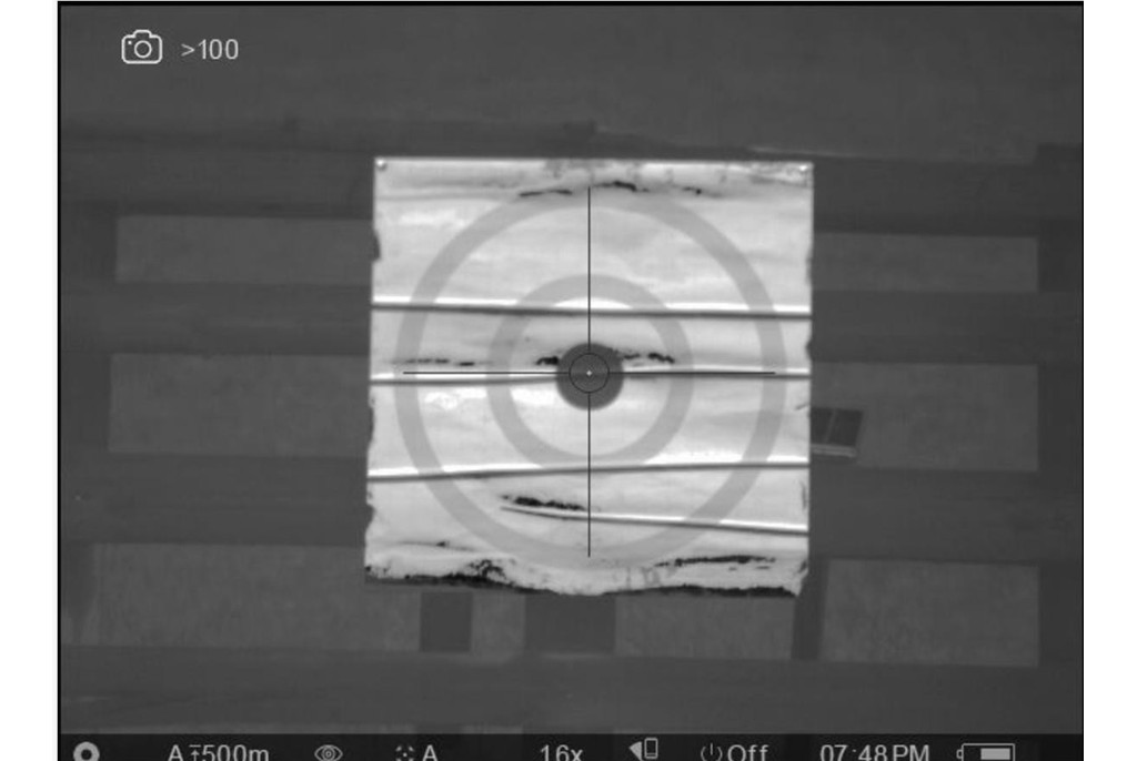 Image of Thermbright Thermal Zeroing Target Bullseye Model