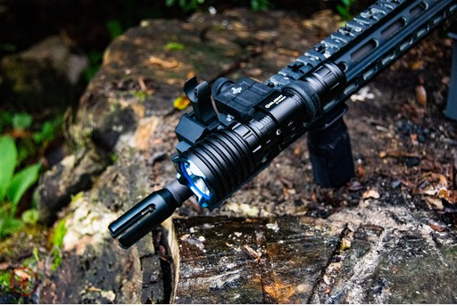 OLight Warrior X 2000 Lumens Tactical Flashlight