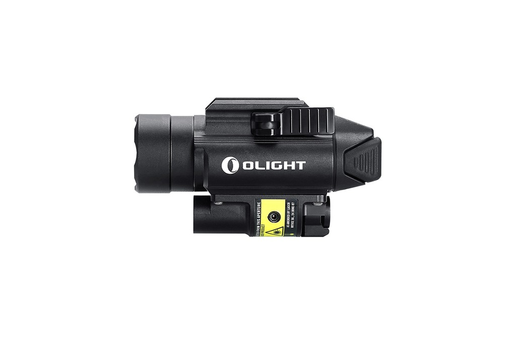 Image of OLight PL2-RL Baldr Tactical Flashlight with 1120 Lumen light and Red Laser