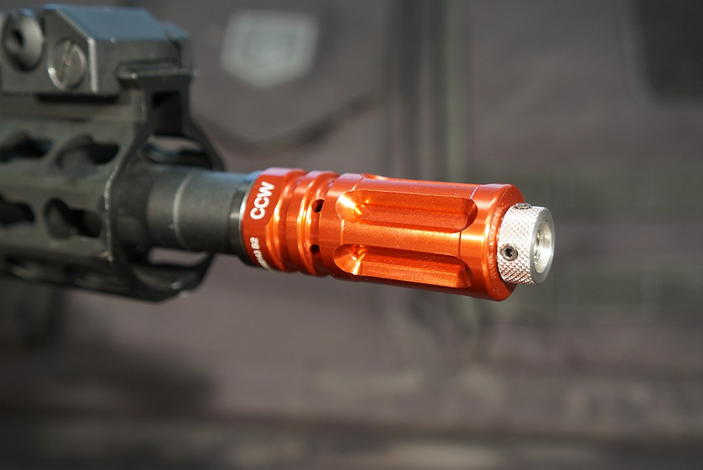 Image of Laser Ammo Flash Hider with Surestrike Laser