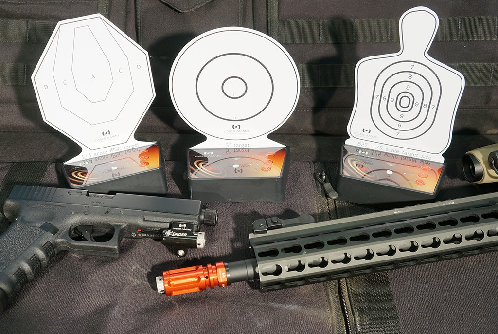 Image of Laser Ammo Interactive Multi Training Target - One Pack