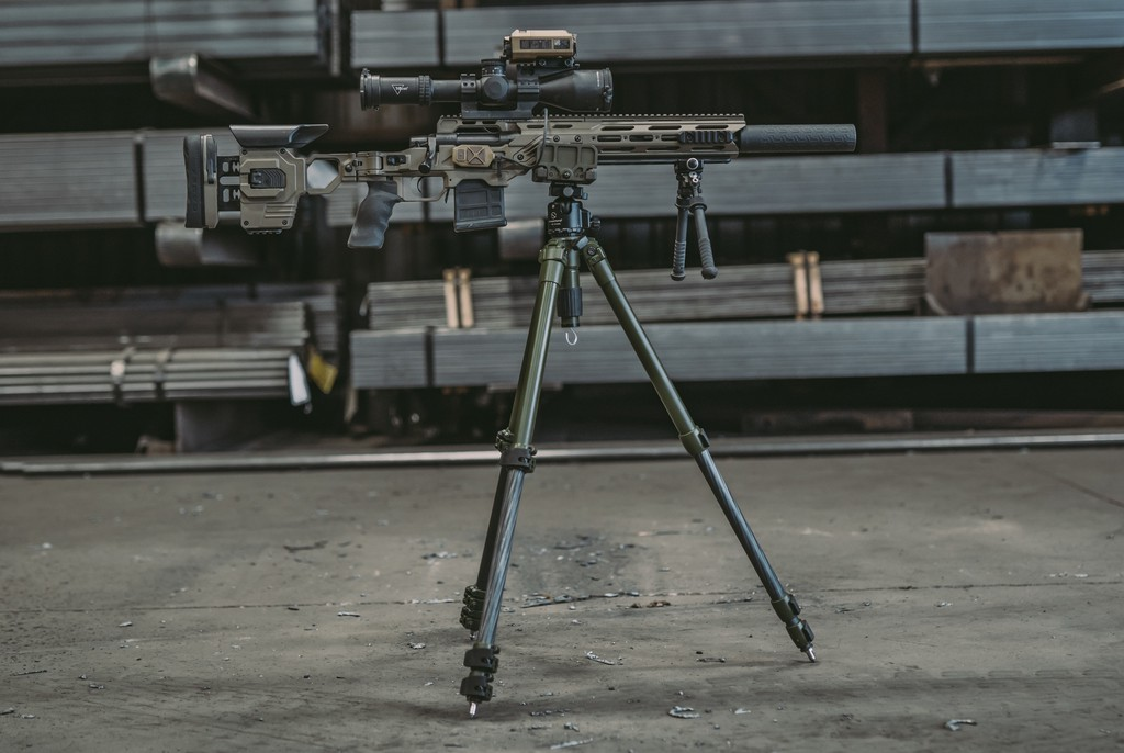 Image of ShadowTech PIGLite-CF4 Carbon Fiber Tripod System with Ball Mount and Pig Saddle