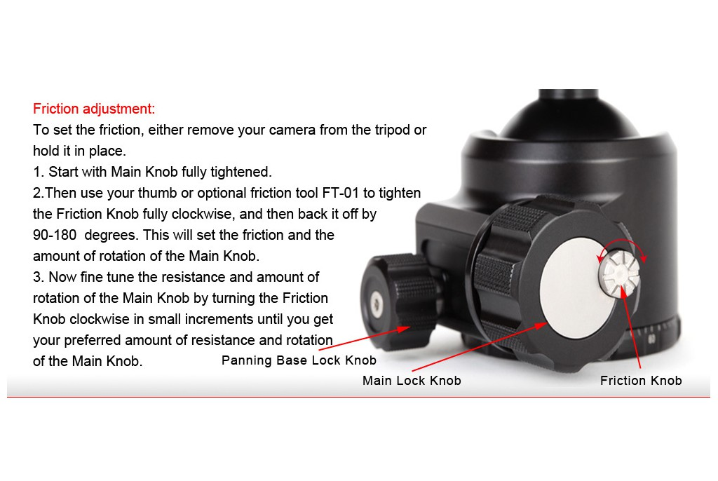 Image of ShadowTech GNN FB-52 Ball Head