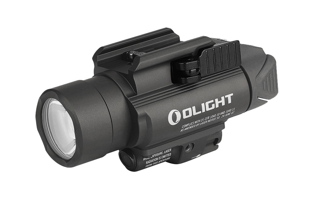 Image of OLight Baldr Pro Gun Mounted Tactical Light with Green Laser