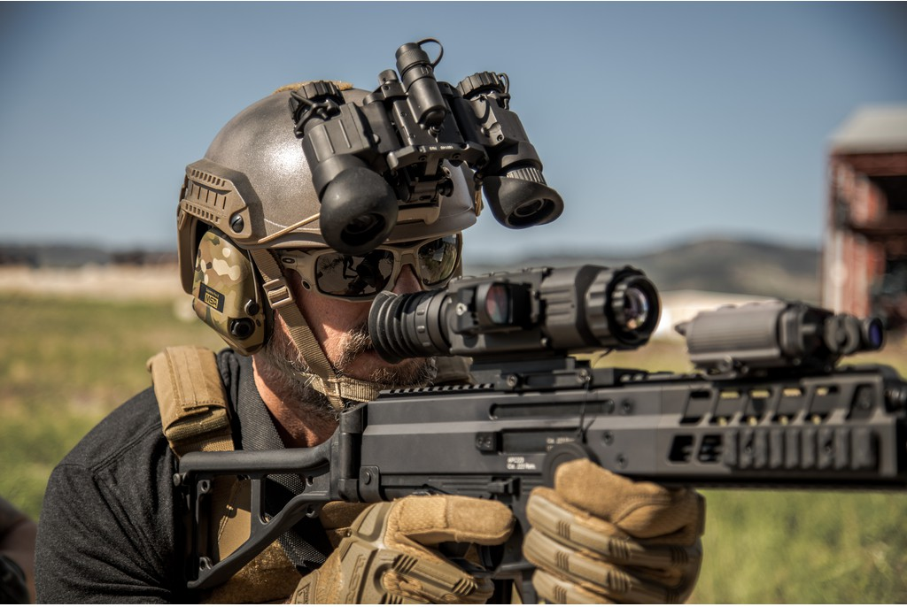 Image of AGM NVG-50 Night Vision Goggle Systems - Gen 2+ Photonis White Phosphor