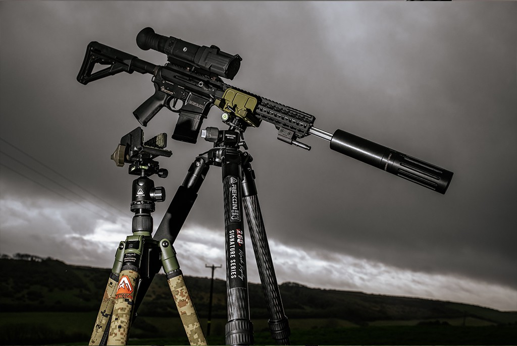 Image of Rekon CT3-HD 260RIPS Signature Edition Precision Rifle Tripod System
