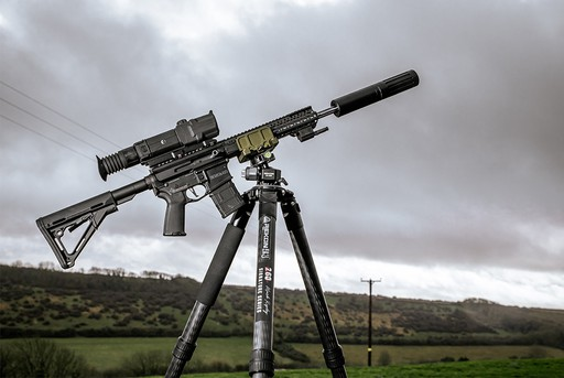 Rekon CT3-HD 260RIPS Signature Edition Precision Rifle Tripod System