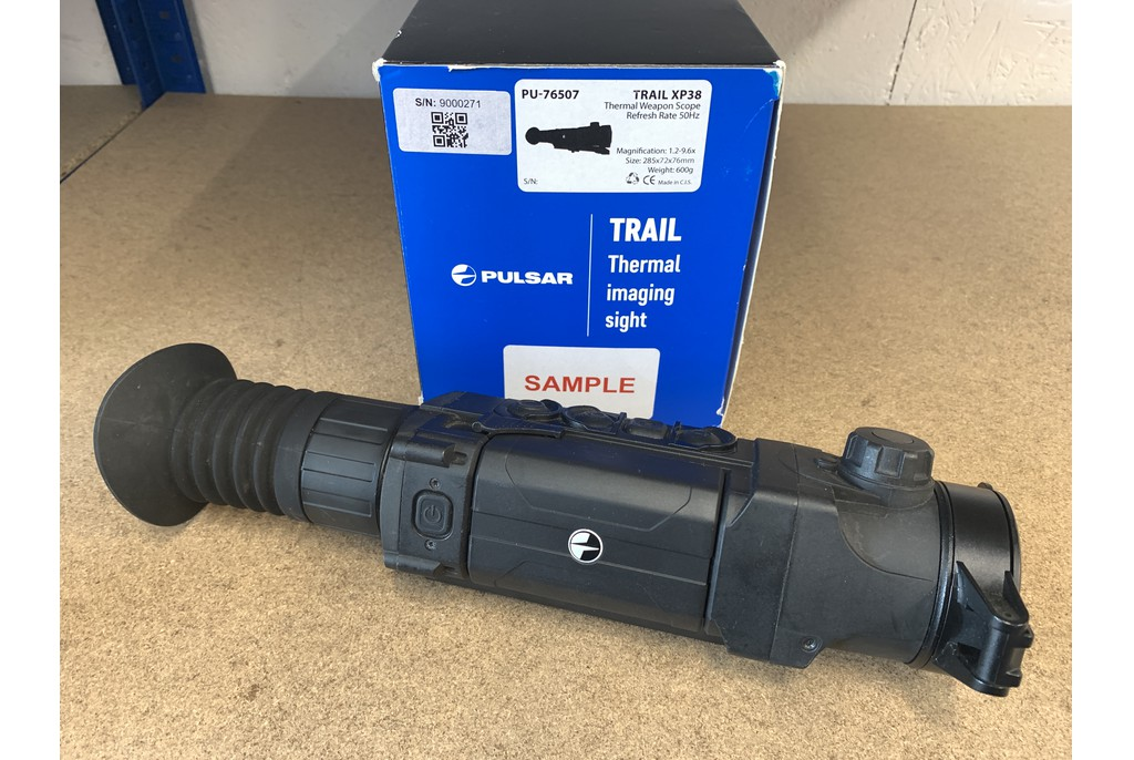 Image of Ex Demo Pulsar Trail XP38 Thermal Riflescope