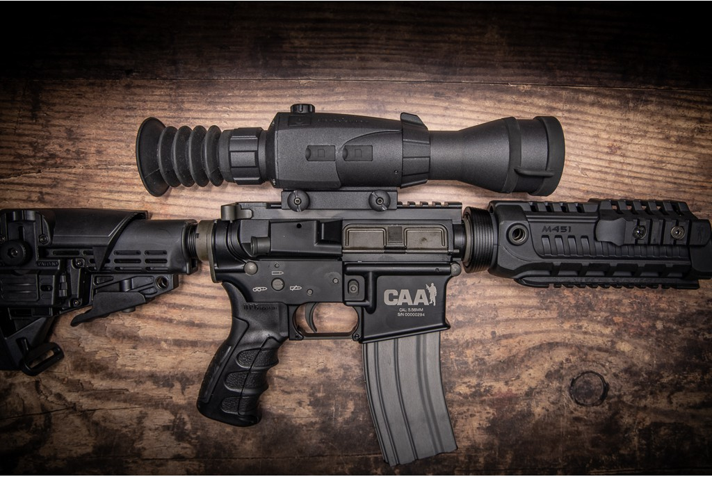 Image of Sightmark Wraith 4K MAX Digital Day Night Vision Riflescope