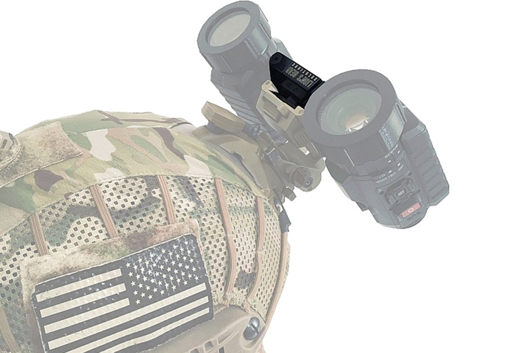 Image of Lion's Gear Solutions MACHOS MT (SINGLE/DUAL HEAD/HELMET MT) - DOVETAIL FOR SIONYX AURORA