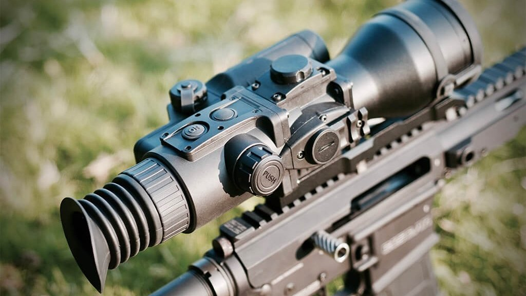 A review of the Pulsar Argus LRF Gen2+ Night Vision Rifle Scope