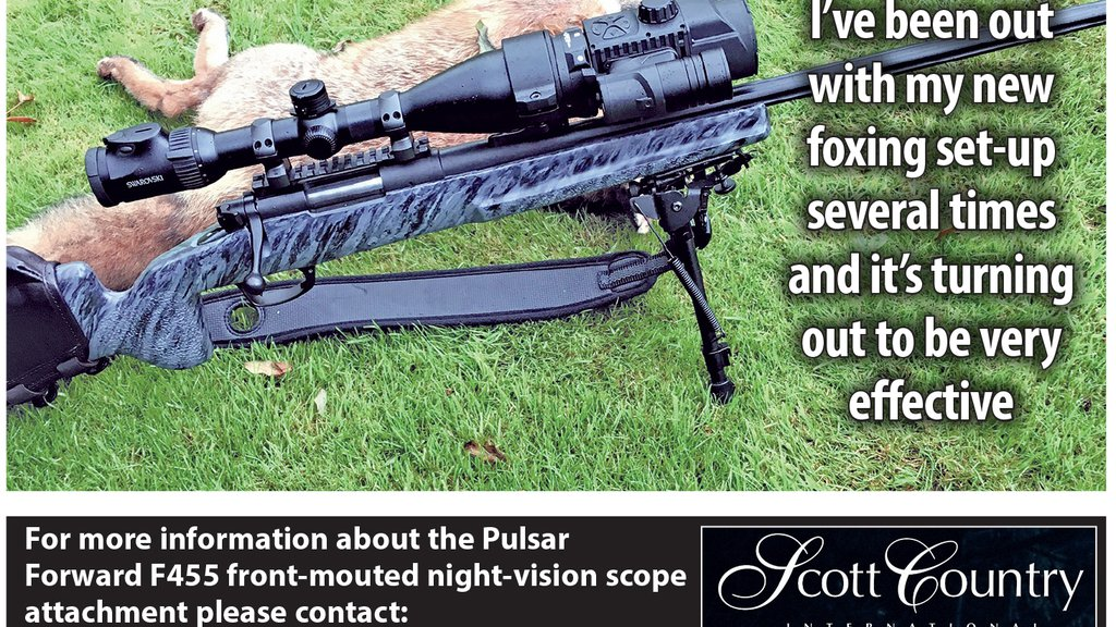 Vulpes reviews the new Pulsar F455 Front Mounted Night Vision