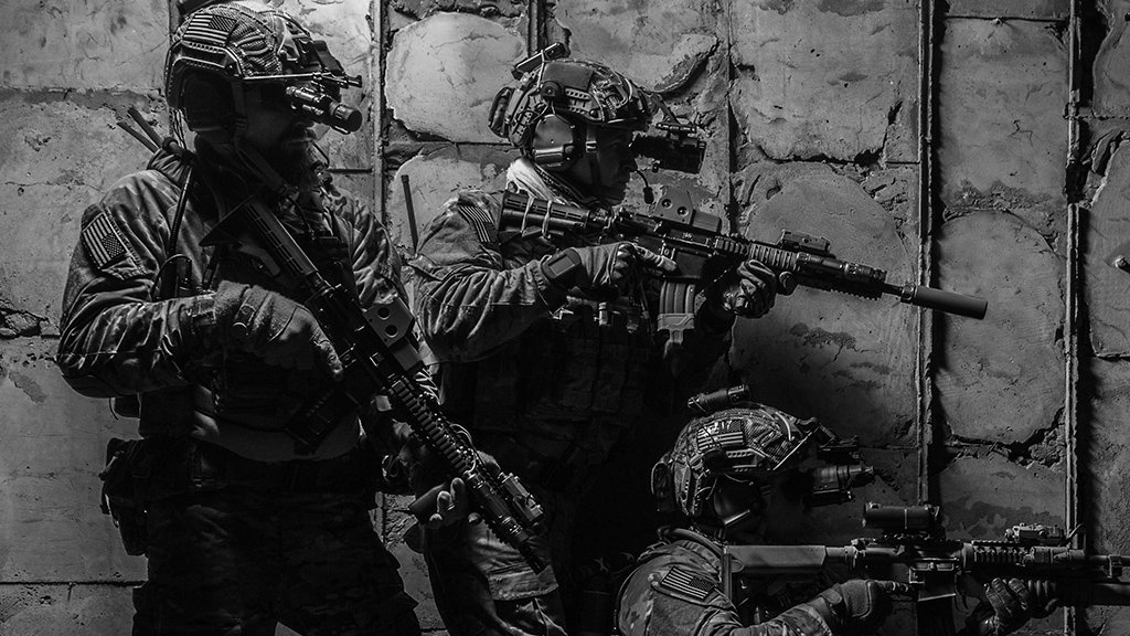 FLIR Tactical Night Vision Soldier Systems