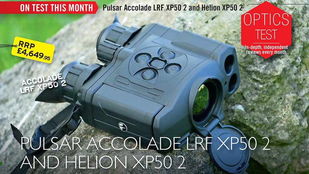 Paul Austin tests out the new Pulsar Helion 2 XP50 and Accolade 2 XP50 LRF