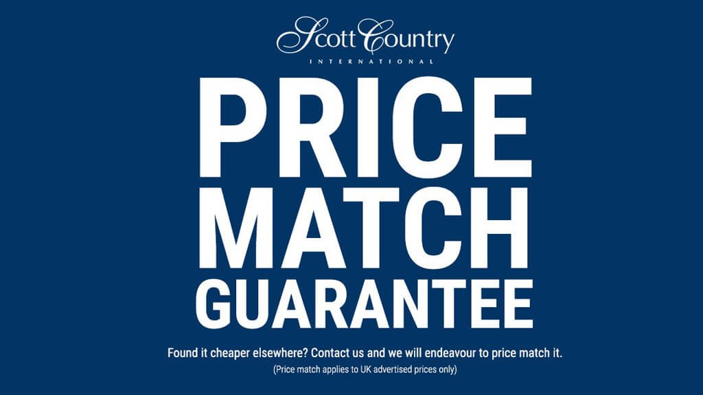 Price Match Guarantee - Found it cheaper elsewhere? Check out the Scott Country Price Match Guarantee!