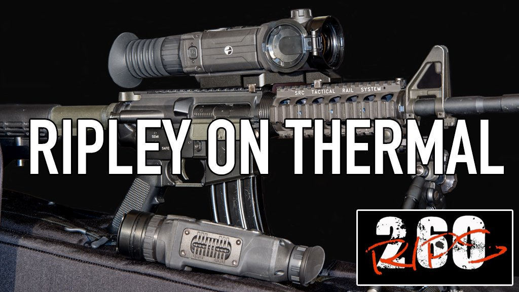 Mark Ripley On Thermal - Using the new Pulsar Helion XQ38F and Pulsar Trail XQ50F