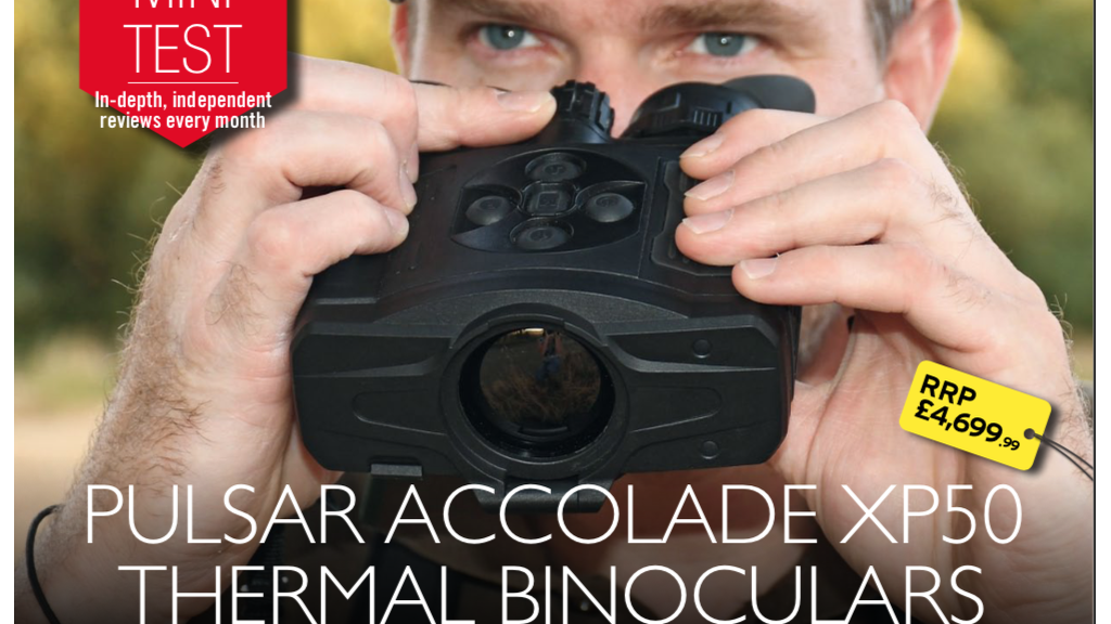 Chris Parkin reviews the new Pulsar Accolade XP50 Thermal Bioculars