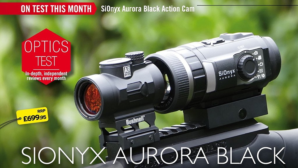 Paul Austin tests the new SiOnyx Aurora Black Edition Night Vision Camera
