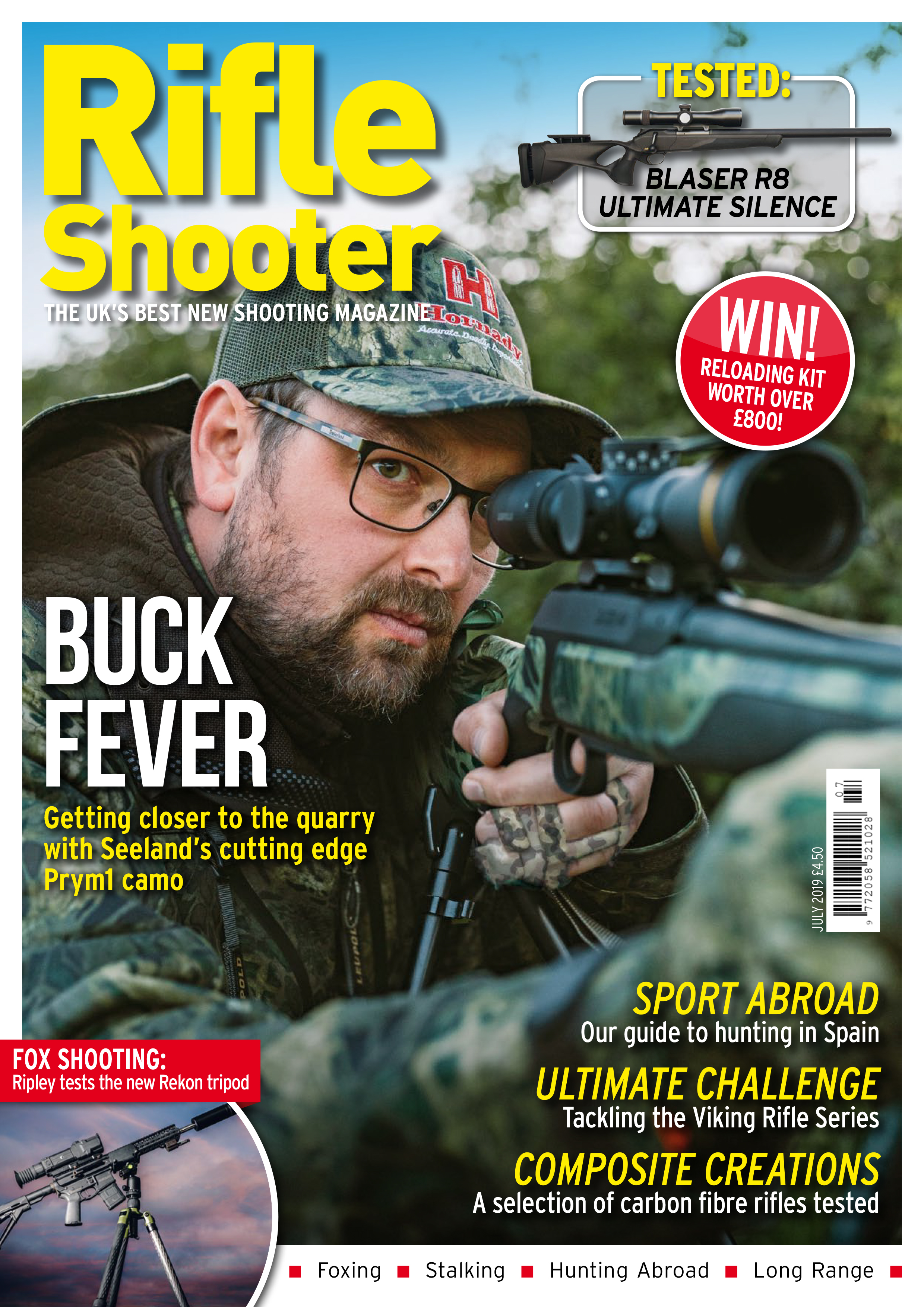 Rifle Shooter Magazine Cover Rekon Feature