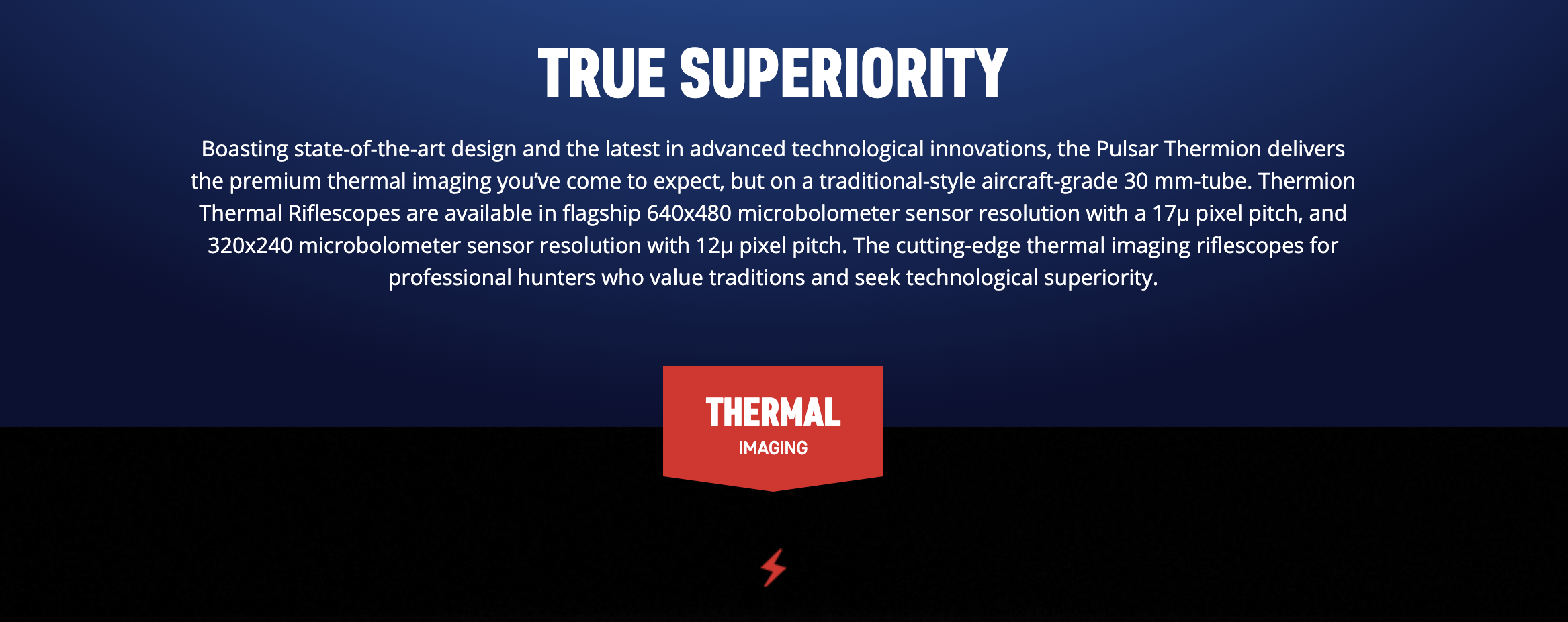 True Superiority Thermion